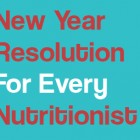 New Year Resolution for Nutritionists